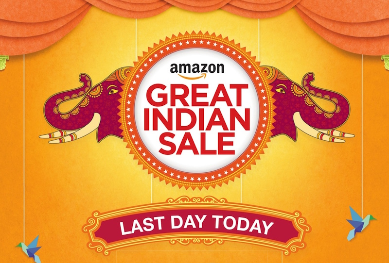 amazon great indian sale last day