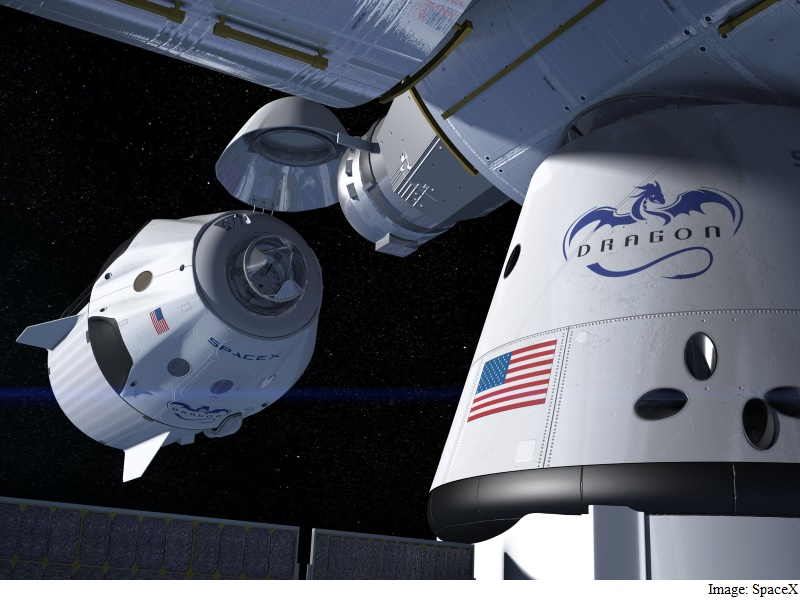 Dragon, ISS, Nasa, Science, SpaceX
