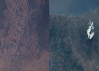 Watch these stunning images of Mount Etna and Grand Canyon tweeted by NASA astronaut