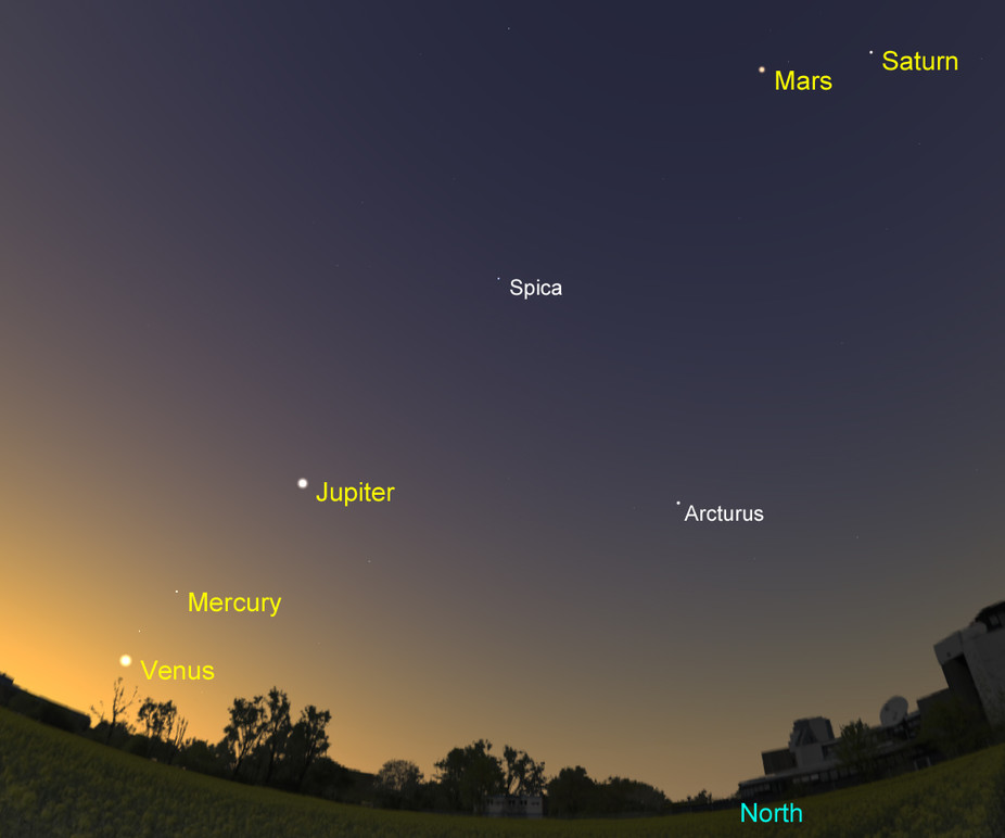 Five planet to meet in sky tonight; Here's how you can see it
