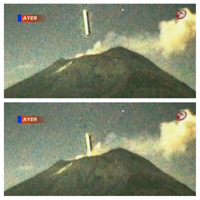 This why UFOs are often seen near volcanoes around the world (Video+)