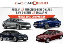 A brief comparison of Audi A4, Mercedes-Benz C-Class, BMW 3 Series and Jaguar XE --Ã'Â