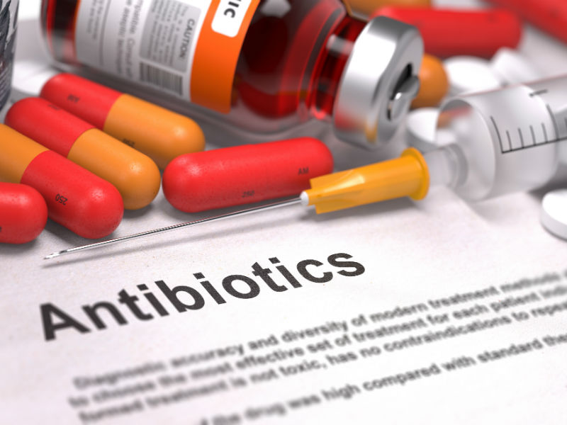 Antibiotics before 2 years can cause allergic in later stage of life
