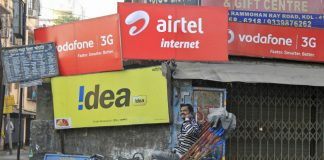 Bharti Airtel Idea Cellular and Vodafone