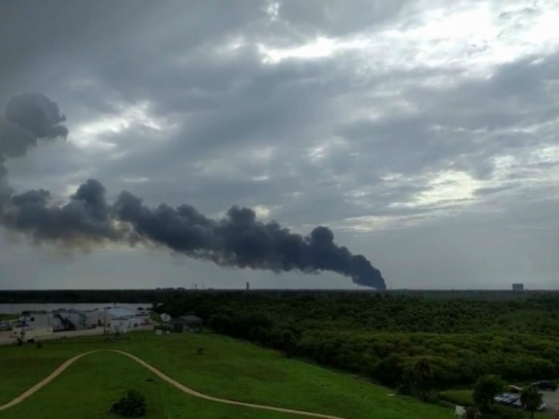 Falcon 9s explosive accident is still under investigation