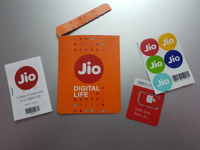 Jio SIM activation