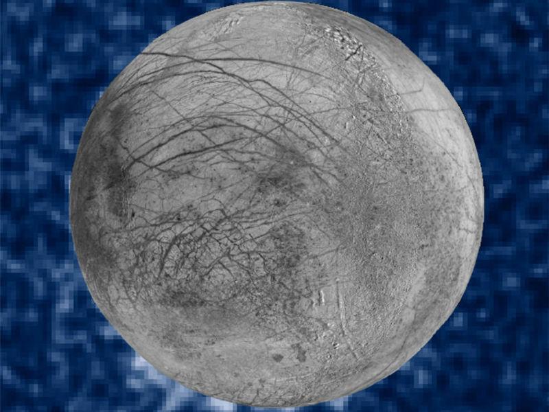 Europa (Moon), Goddard Space Flight Center, Hubble Space Telescope