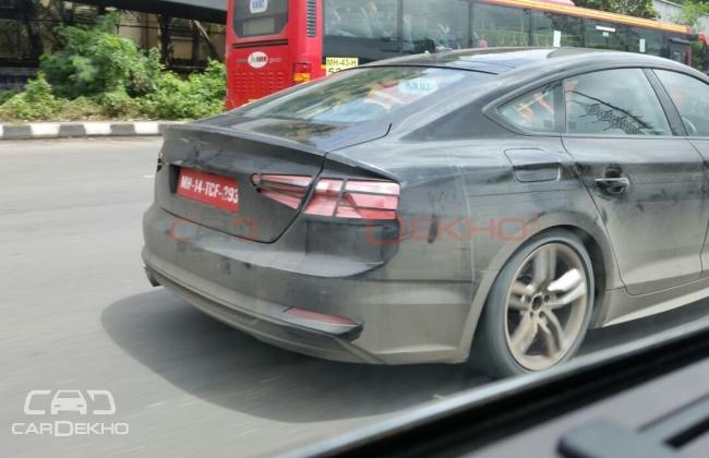 Next-Gen Audi A5 Sportback Spotted Testing