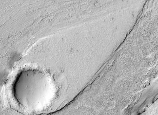 See Pic: NASA's MRO reveals a streamlined form in Lethe Vallis, Mars