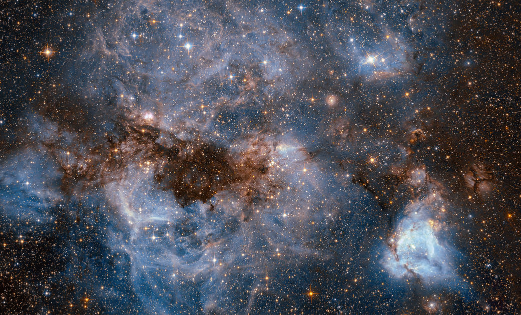 Watch this mesmerising beauty of nearby galaxy captured by Hubble Telescope
