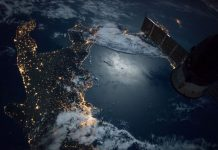 Watch this incredible night time image of southern tip of Italy captured from space by NASA