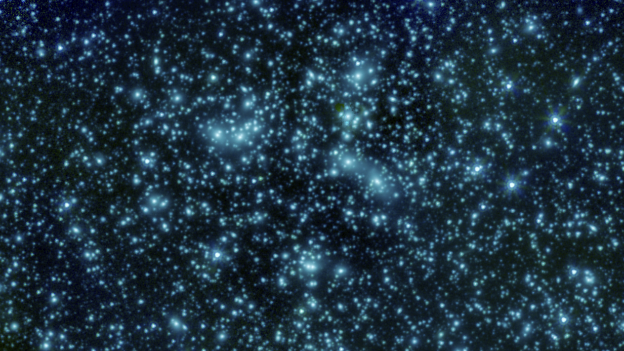 Watch this stunning of Pandora cluster captured by NASA Spitzer Space Telescope