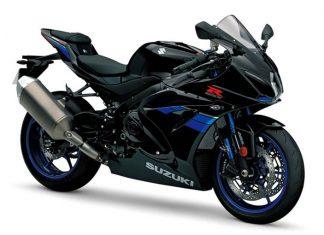2017 Suzuki GSX-R black