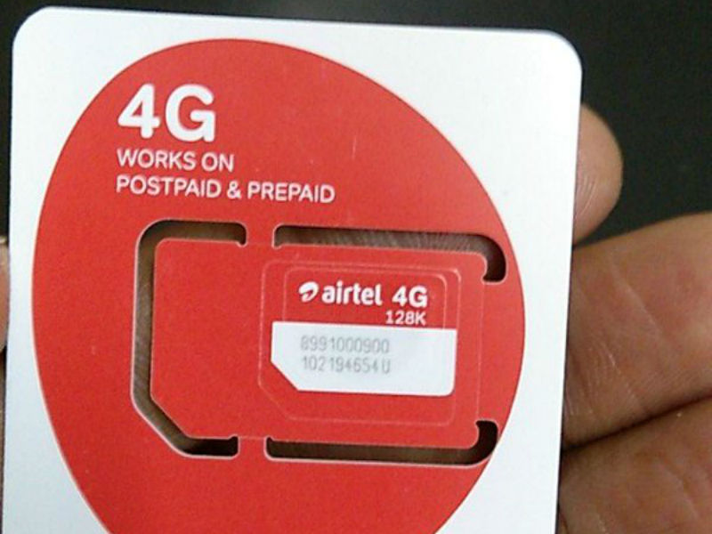 Airtel 4G SIM 55613161