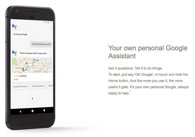 Google Pixel Google Assistant AI