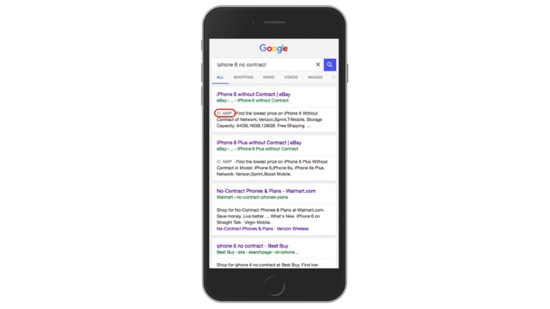 Google starts AMP rollout for Mobile Search Results in India