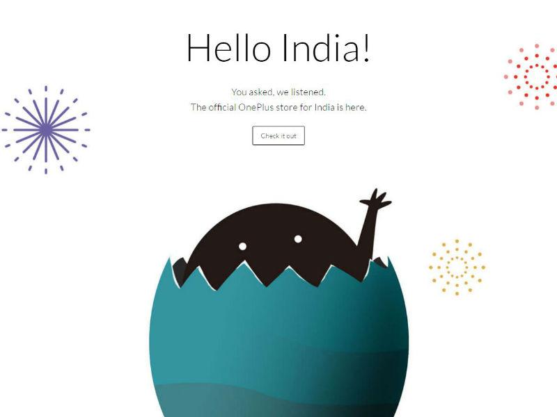 OnePlus online store India