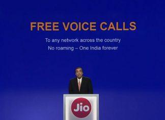 Reliance Jio Free Calls