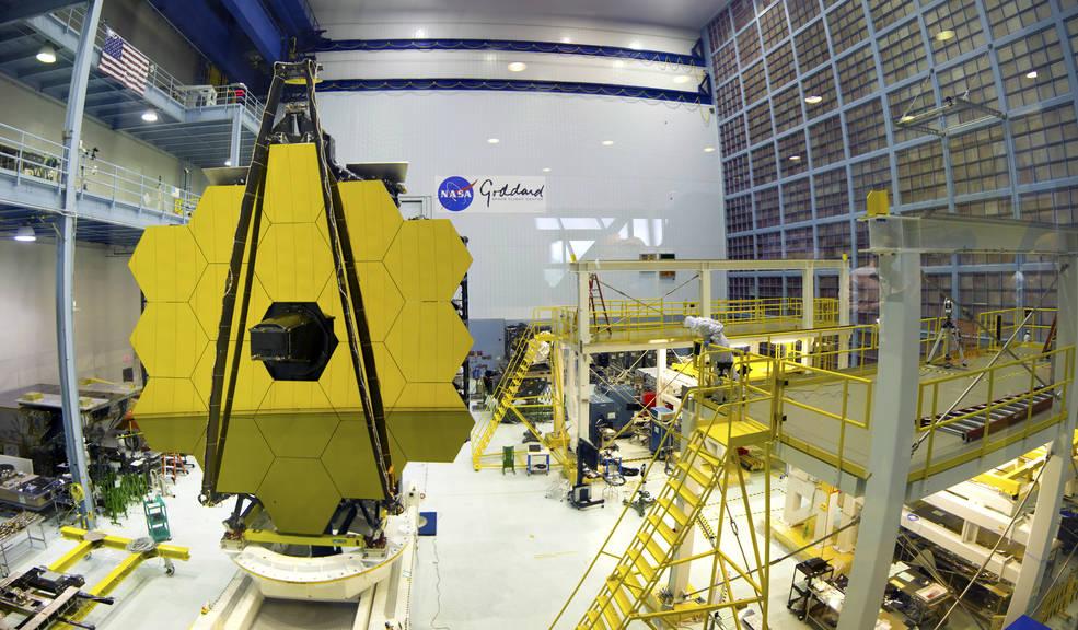 Media Invited to Rare View of NASA's James Webb Space Telescope Mirrors