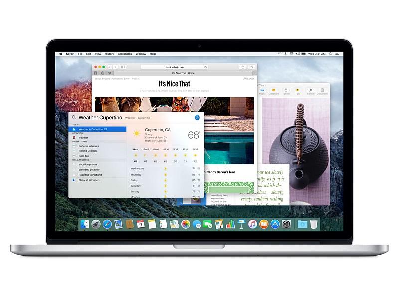 macbook pro interface