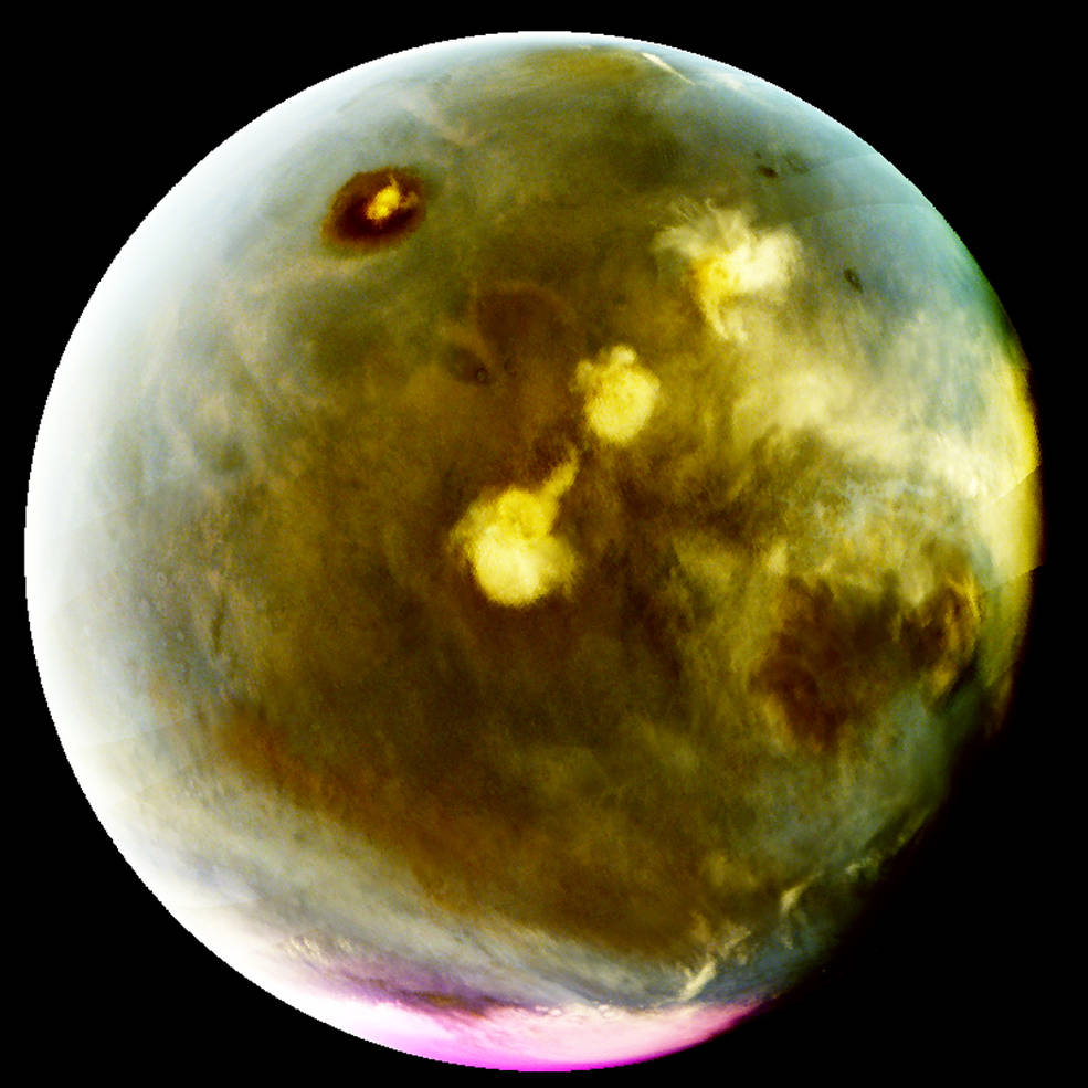 See Pics: NASA Maven spacecraft shows unprecedented ultraviolet view of Mars