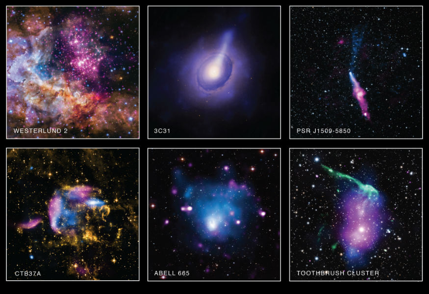 NASA releases six beautiful Chandra X-ray images to celebrate American Archive Month