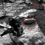 Skull found on Mars in NASA Curiosity image: UFO Sightings Daily