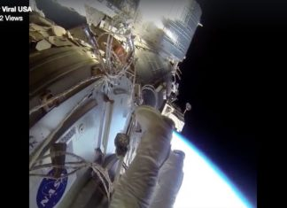 Super Viral video of spacewalk on Facebook was a fraud!