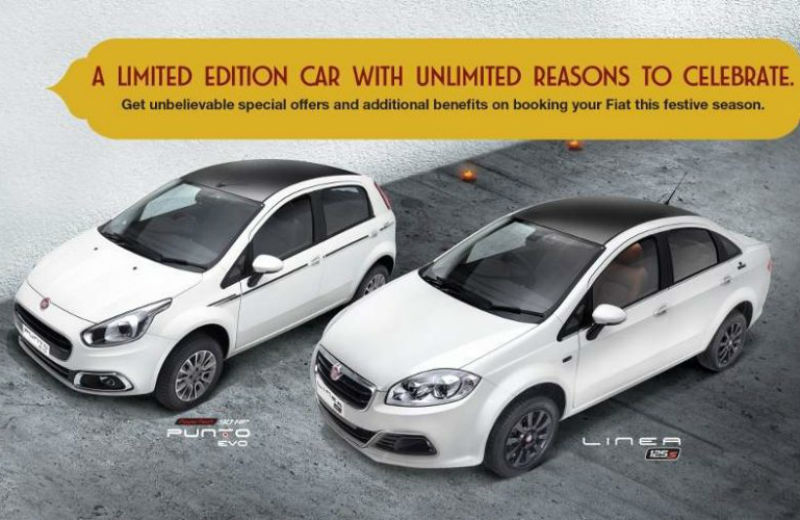 Fiat's Special edition Punto Karbon and Linea Royal