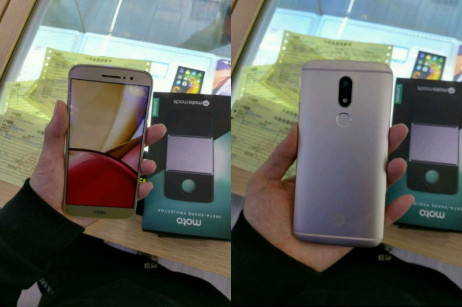 Moto M Leaked images front and back