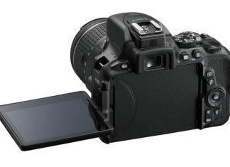 Nikon D5600 DSLR rear