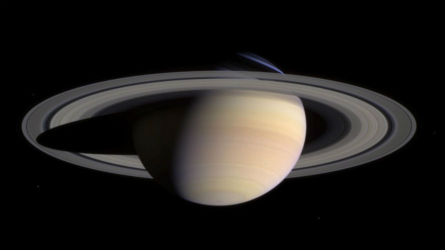 Here's how Saturn got its rings; Mystery solved!