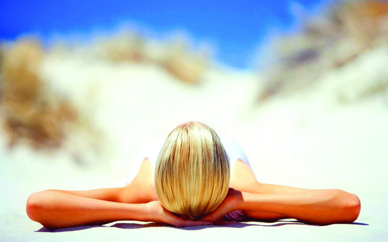 Here's how sunbath can help in fighting emotional stress