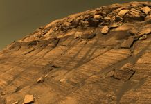 After warm periods that lasted 10m years, Global warming scarred surface of Mars