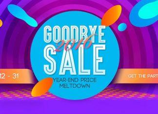 Good Bye 2016 sale Gear Best