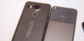 Google Pixel and Nexus smartphones