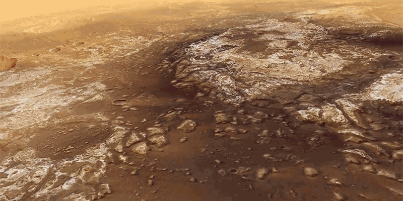 This astonishing ESA video will take you on a trip over Mawrth Vallis on Mars