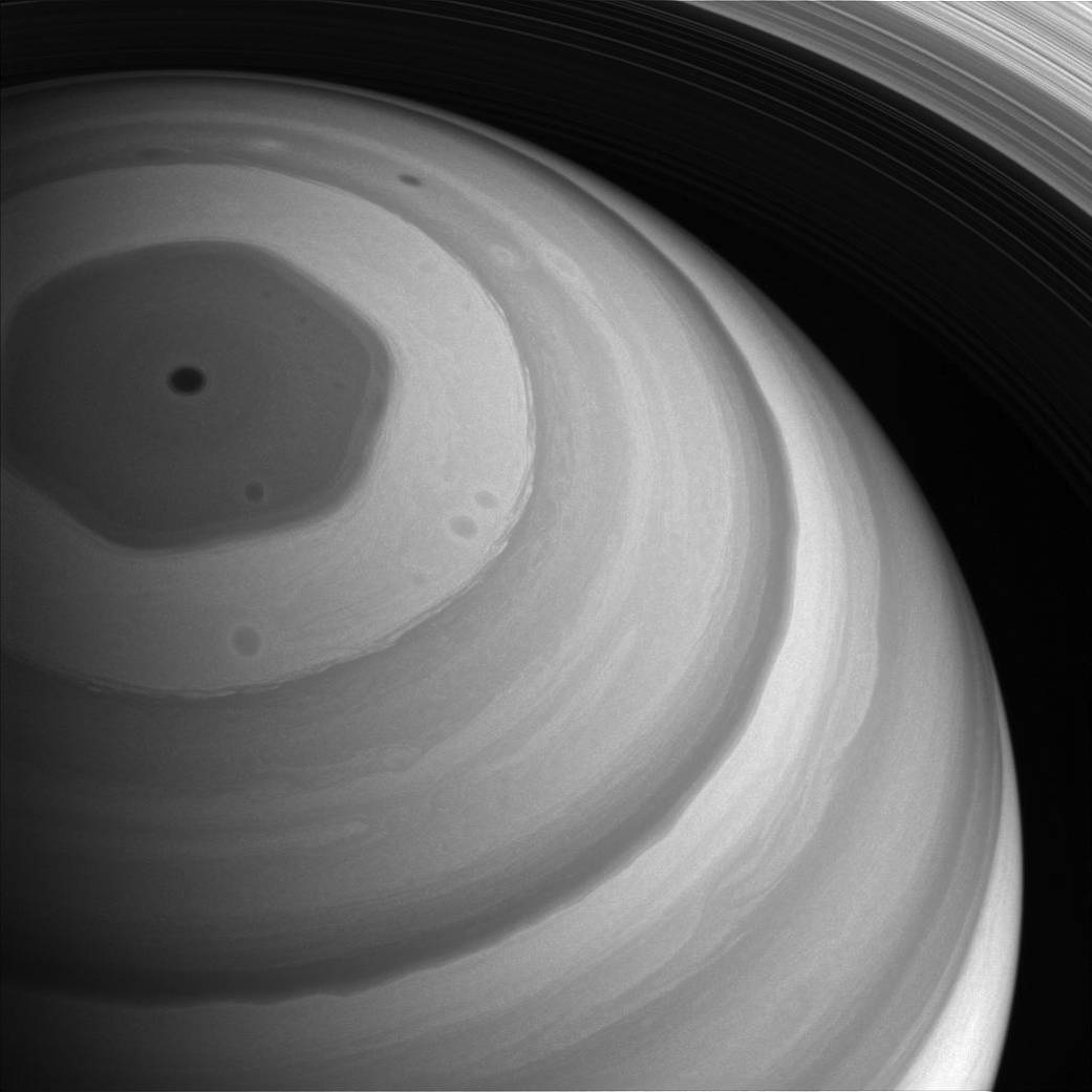 NASA image of the day shows Saturn's north pole bathing in sunlight, Watch here