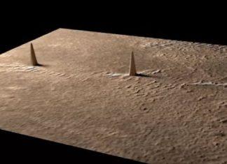 Aliens exist? Alien hunters find three tower aligned in symmetry on Mars