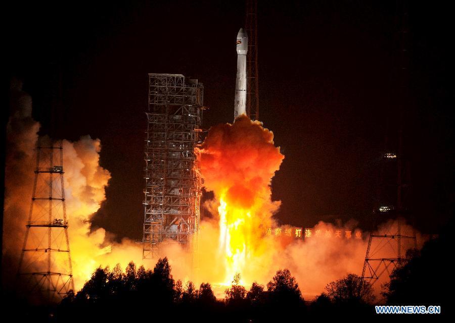 test satellite