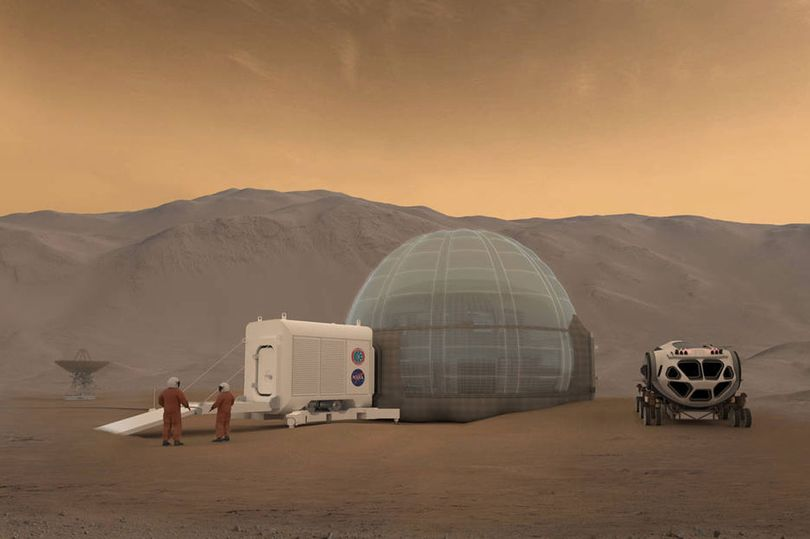 NASA Proposes Blueprint of Igloos for Accommodating Astronauts on Mars