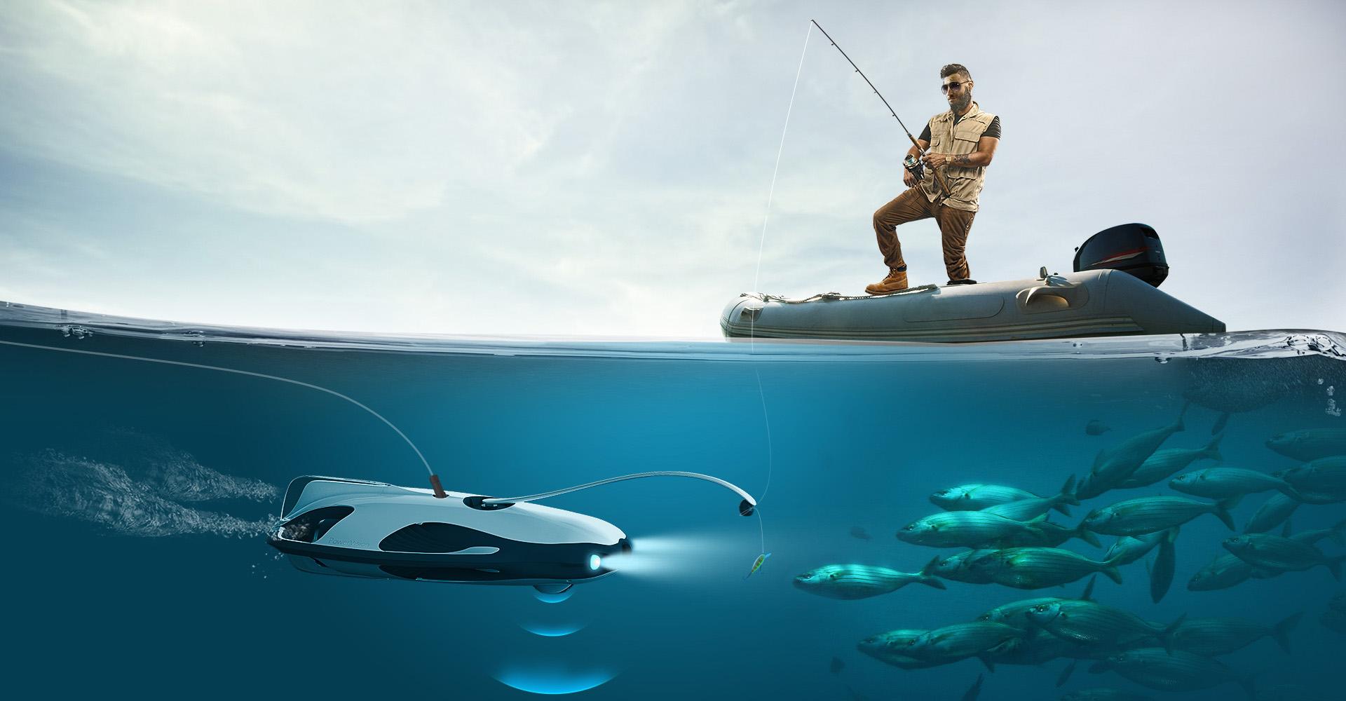 PowerRay Aquatic Drone