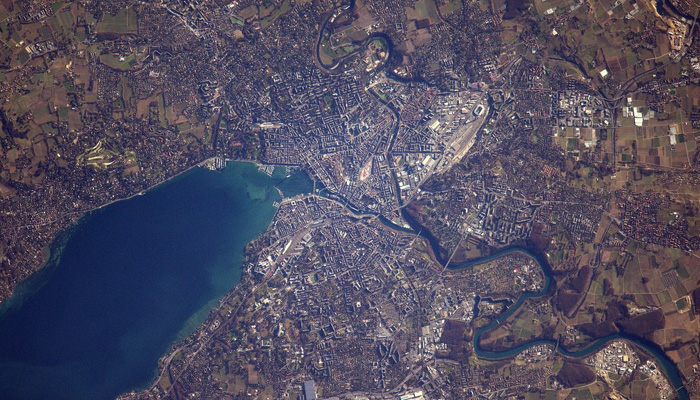 ISS Astronaut Thomas Pesquet Shared Awesome Pictures of Geneva and Its Lake