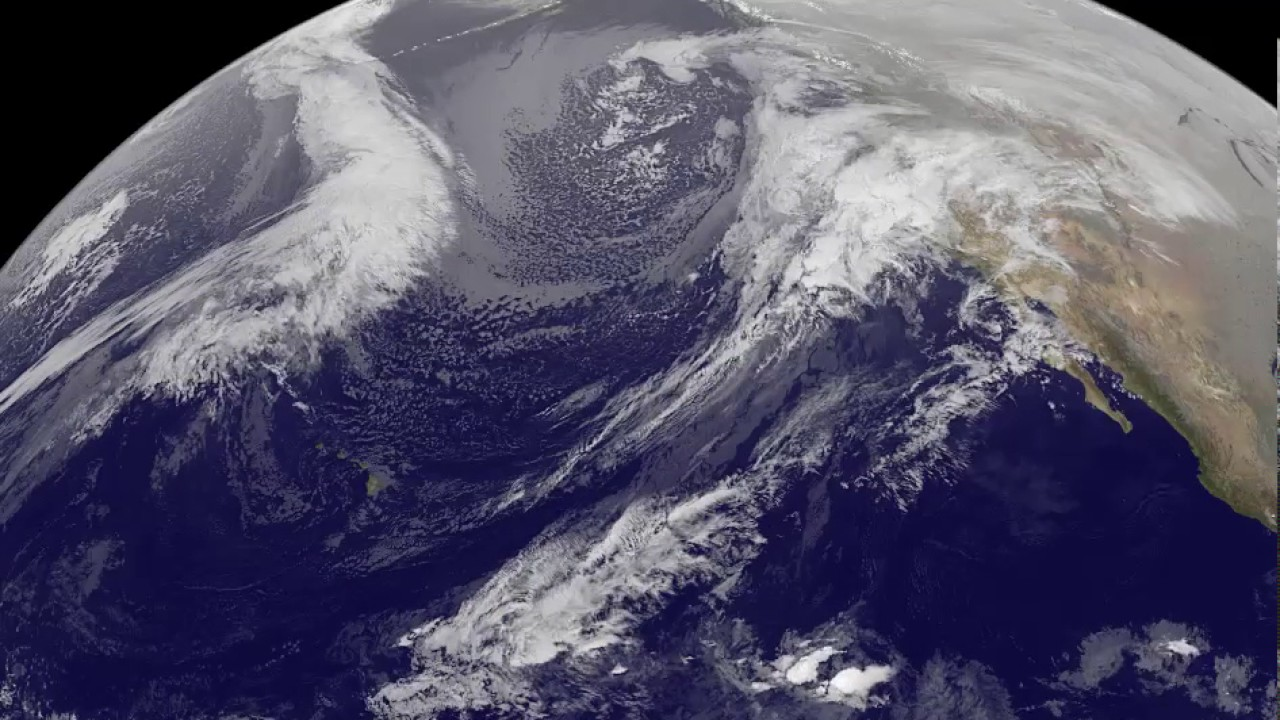 Watch NASA/NOAA's Satellite Animation VIDEO Demonstrating Suit of Humidity-Loaded Blizzards Hitting California