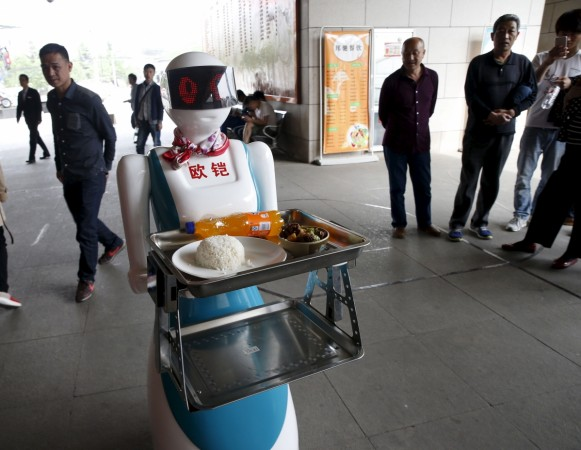 Journalist robot writes first ever 300 character news in a second in China