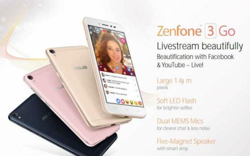Asus Zenfone 3 Go Leak