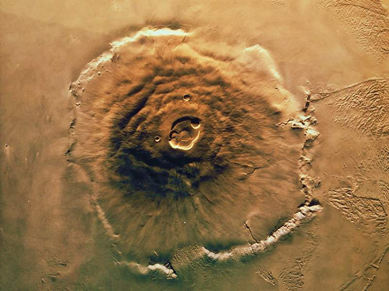 Oldest volcanic activity might have started on Mars nearly 2 billion years old