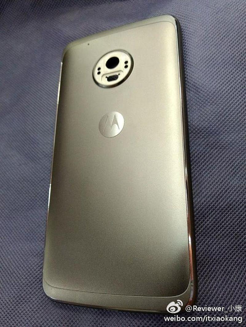 Moto G5 rear leak
