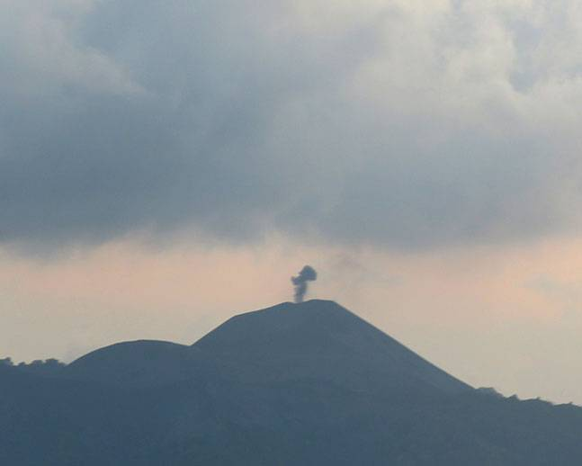 """India's only active volcano """"Barren Island"""" erupts in Andaman and Nicobar"""