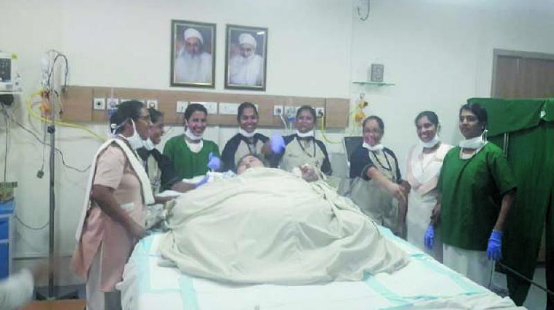 World's heaviest woman loses 40 kg in seven days